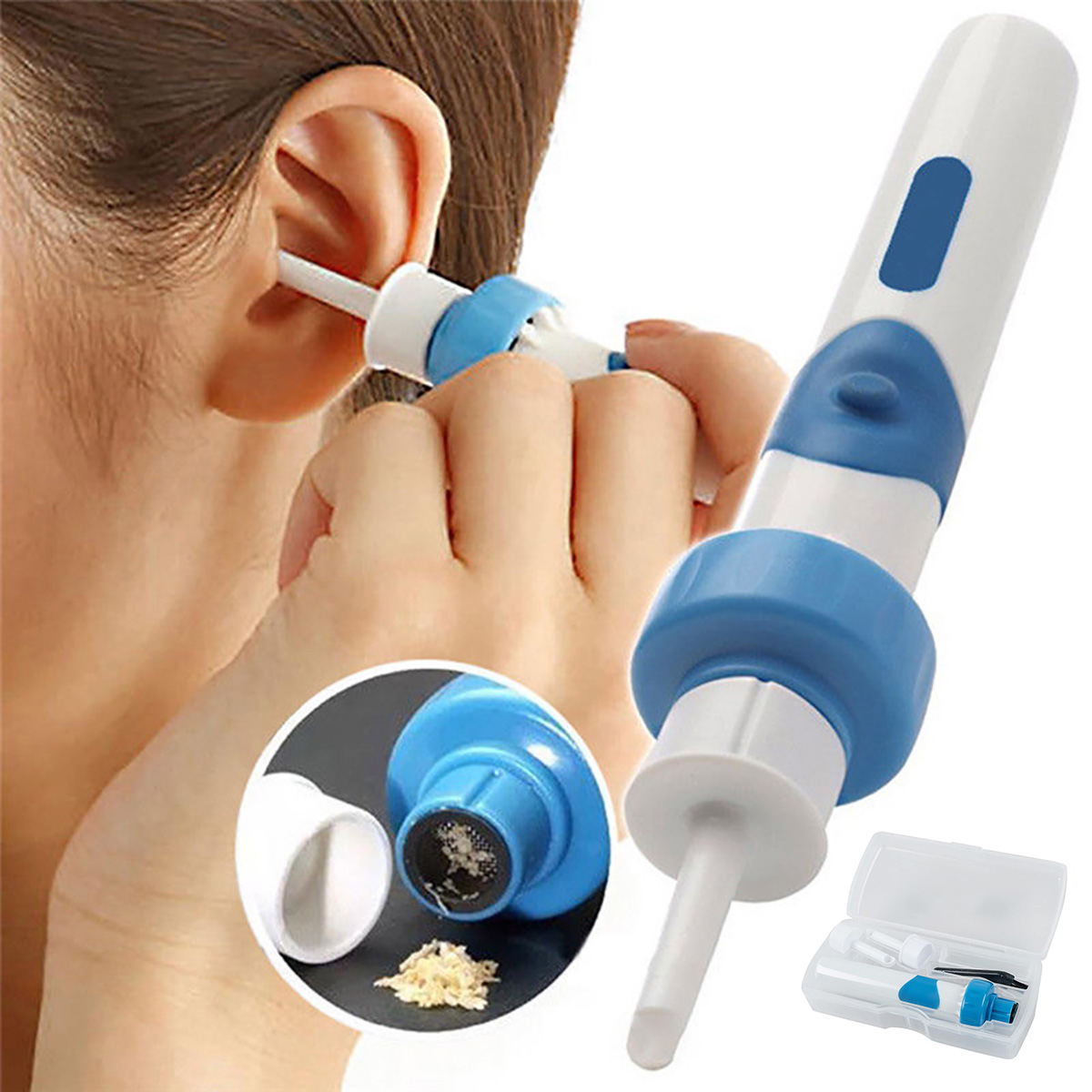 Возврат прибора для чистки ушей