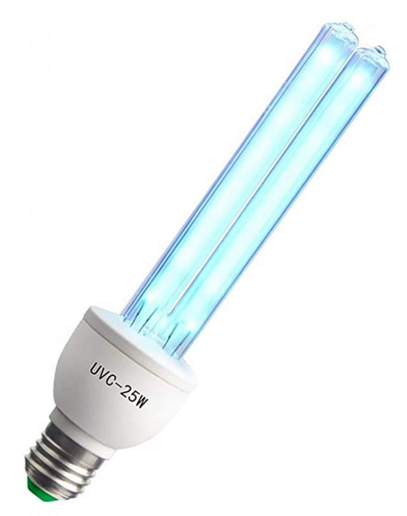 Возврат бактерицидной лампы